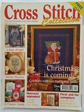 Cross Stitch Collection Magazine Issue 34 November 1997 edition Santa Angel