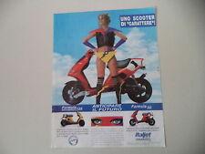 advertising Pubblicità 1994 ITALJET FORMULA 50