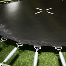 13ft Round Plain Trampoline Mat (72 Springs) - 2 Year Warranty - Free Delivery