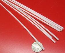 "Nylon 66 Round Rod, Natural Tint 1/8"" Dia .125"" x 48"" Length - 8 Units"