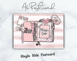 "Planner Babe 4""x6"" (A6) Postcard/Planner Dashboard/Bujo/Scrapbooking"