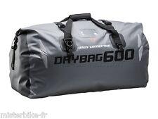 Sacoche / Sac de selle moto SW-Motech DRYBAG 600 Gris 60 L Etanche Waterploof