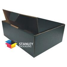 25 x BLACK Mailing Box Diecut 220x160x77mm BX1 Shipping Cardboard Carton boxes