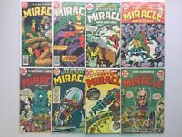 DC 1972 Mister Miracle 10-23 Not Complete Jack King Kirby Darkseid Big Barda