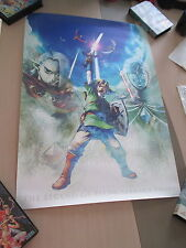 >> THE LEGEND OF ZELDA SKYWARD SWORD CLUB NINTENDO JAPAN OFFICIAL B2 POSTER! <<
