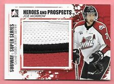 11/12 ITG Heroes & Prospects Joe Morrow 3 Color Patch 2012 Spring Expo #1/1