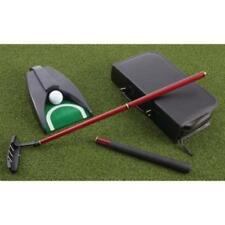 Office Home Golf Set Cherry Wood Handcrafted Putter Carry Case Great Gift NEW
