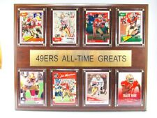 San Francisco 49 Ers all Time Greats Wood Wall Picture 38 cm, Plaque