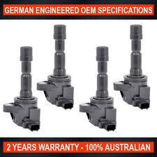 Set of 4 OEM Quality Ignition Coil Honda Jazz City CRZ Hybrid Fit 1.3L 1.5L