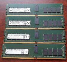 Dell PowerEdge T430 T630 M630 M830 64GB (4x16GB) DDR4 RAM PC4-2400T-R ECC Memory