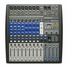Presonus StudioLive AR12 USB Analog Mixer & Digital Recording  Mixing Desk