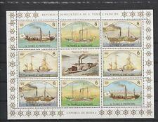S. Tomé e Principe - MNH -  Schepen/Ships/Schiffe