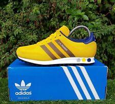 BNWB & Genuine Adidas Originals ® LA Trainer Weave in Col. Gold Trainers UK 10.5