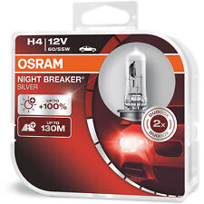 Osram Night Breaker Silver High/Low Beam Bulbs Lights Headlight Headlamp Genuine