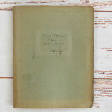 Vintage 1939 Student Botany Vine Collection High School College