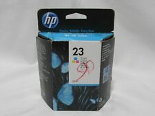 HP 23 Tri-Color Ink Cartridge New in Box Expired March 2015 (5C1)