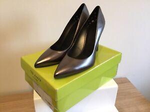 Ted Baker Shoes Melnima Gunmetal Grey High Heel UK Size 7