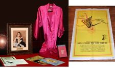Signed BARBRA STREISAND Autograph COA UACC, Personal ROBE, DVD Funny Girl POSTER