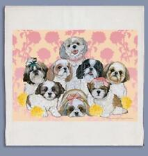 Shih Tzu Tea T towel Gift/Present Dog