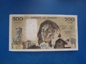 500   FRANCS   PASCAL  1984    C 206