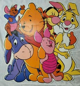 Disney Winnie the Pooh and Friends Large Floor Puzzle 46 Piece 34x36 Eeyore Roo