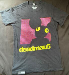 Deadmau5 Official T-Shirt Black Size Small EDM