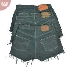 Shorts, bermuda e salopette da donna grigi in denim