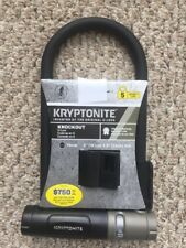 "KRYPTONITE U-LOCK 4""x 9"" Security Level 5 NEW Bicycle Lock Bike NIP"