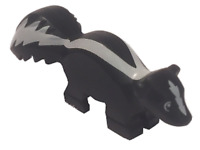 LEGO® City Minifigure Skunk minifig Black White Animal from Set 60176