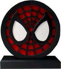 "SPIDERMAN - Logo Polystone Bookend Set 6"" x 13"" x 6"" (Gentle Giant) #NEW"