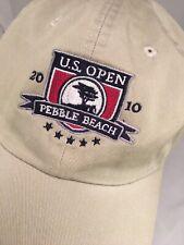 2010 US Open Pebble Beach Khaki Adjustable Hat Pebble Beach Collection