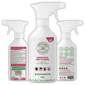 House Hold Pest Cleanse Protection against Fleas, Ticks & Bed Bugs 500ML