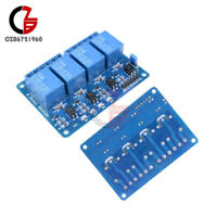 1/2/5/10PCS 4 Four Channel Relay Module DC5V Optocoupler For Arduino PIC ARM AVR