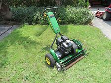 John Deere 260C Golf Greens Tee Professional  Reel Mower - Groomer Brush  Wheels