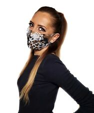 Cheetah Print Face Mask,Double Layer, Washable, Reusable!Made In USA!