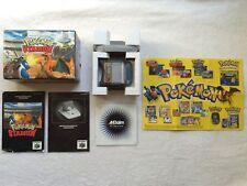 POKEMON STADIUM - Nintendo 64 - BOXED + INSTRUCTIONS & INSERTS + TRANSFER PAK