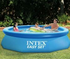 """Intex 10' x 30"""" Easy Set Inflatable Above Ground Pool with Filter Pump Brand New"""