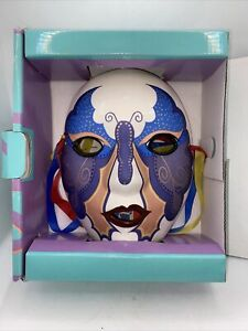 Vintage New in Box Clay Art Mask Hand Painted San Francisco Butterfly