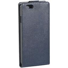 Xcase Stilvolle Klapp-Schutztasche für Apple iPhone 6/s Plus, schwarz