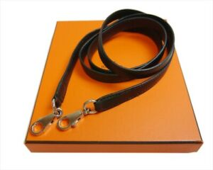 Authentic HERMES Kelly shoulder strap  Leather #5131