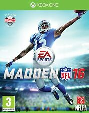 Pal version Microsoft Xbox One Madden NFL 16