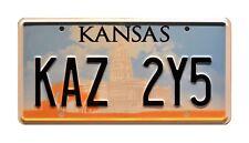Supernatural | Dean's Metallicar | KAZ 2Y5 | STAMPED Replica Prop License Plate