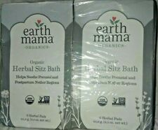 2 pack Earth Mama Organic Herbal Sitz Bath Pregnancy and Postpartum Support