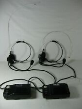 Two Radio Shack Two-Way Transceivers System TRC-506 Voice Actuated FM