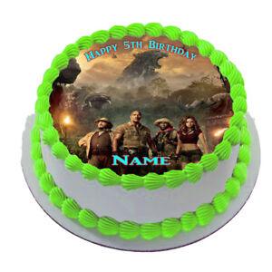 JUMANJI  EDIBLE  ICING  CAKE TOPPER PARTY IMAGE FROSTING SHEET