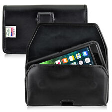 iPhone 8 Plus iPhone 7 Plus Holster Clip Otterbox Case Black Leather Turtleback