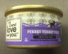 I and love and you 11 pk of 3 oz Purkey Turkey pate Wet Cat Food - Exp 12/4/22