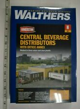 Lot 11-119 * N Scale Walthers Cornerstone kit 933-3861 Central Beverage Distribu