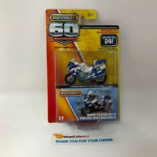 BMW R1200 RT-P Police Motorcycle * White * Matchbox 60th Anniversary * C13