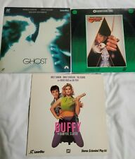 Clockwork Orange Ghost & Buffy The Vampire Slayer Laser Disc Lot Of 3 Tested